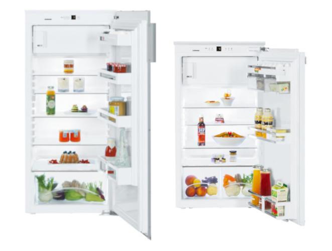 Einbaukühlschränke für Festtür oder Schlepptürmontage