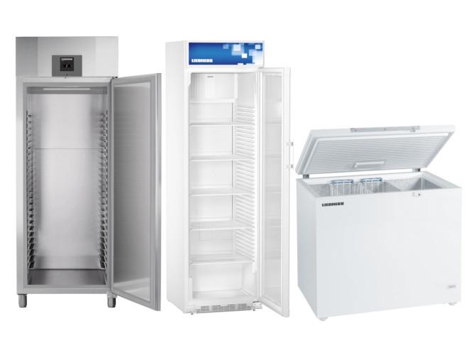 Liebherr Gewerbe Kühlschränke und Tiefkühltruhen