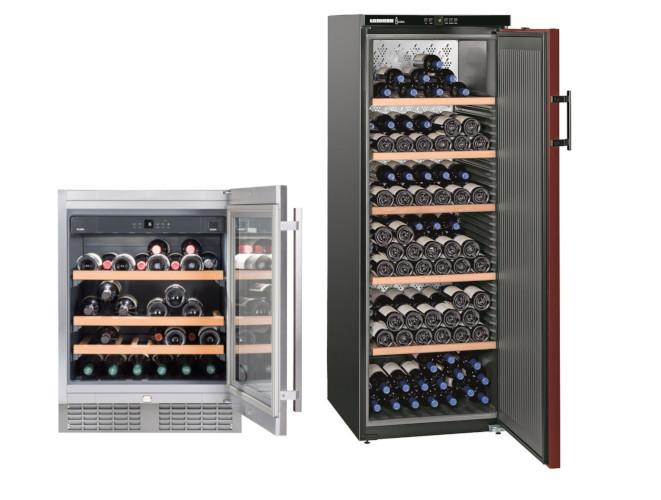 Liebherr Weinkühlschrank mit Glastür oder Volltür