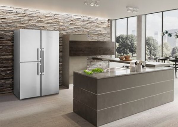 Liebherr SBSes 8483 Premium BioFresh und NoFrost Side-by-Side Kombination